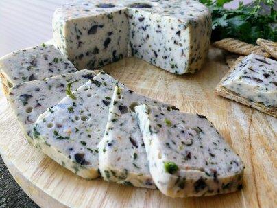 Olive-cilantro cheese 1